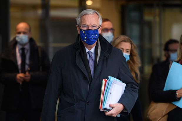 Deadline voor brexit: hoofdonderhandelaar Michel Barnier wil akkoord tegen woensdag