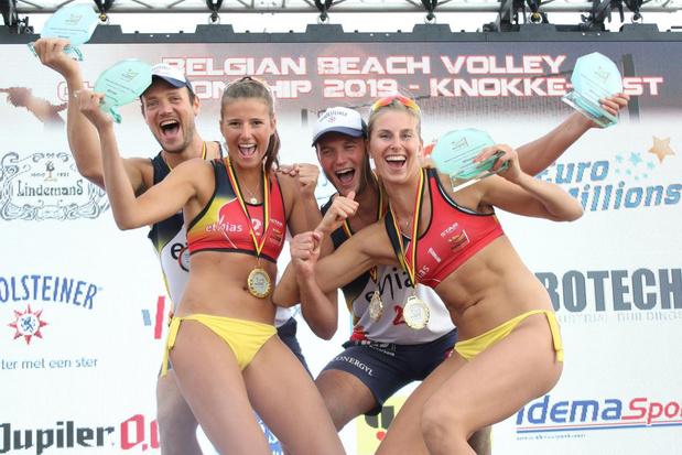 Geen beachvolleybal deze zomer, broers Vandecaveye jaar langer Belgisch kampioen