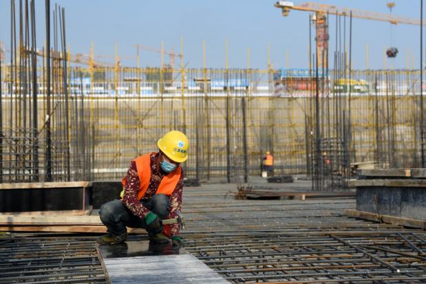Chinese economie voor het eerst in jaren gekrompen