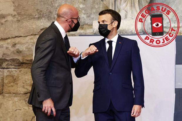 Pegasus Project: Macron en Michel in het vizier van Marokko
