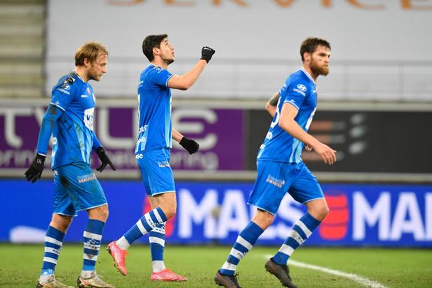 AA Gent laat Moeskroen kansloos in ruime 4-0 zege