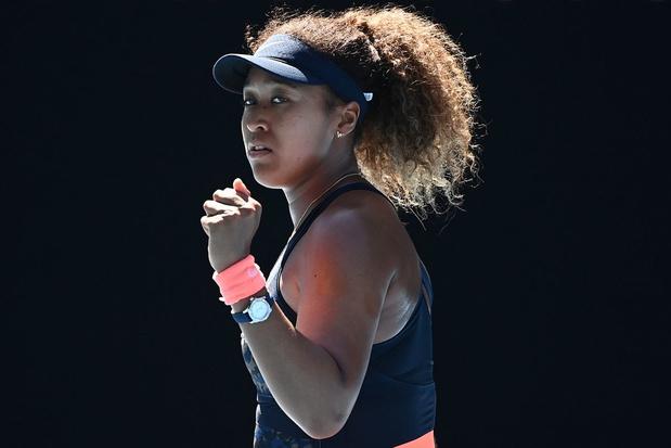Osaka verslaat Brady en verovert tweede eindzege op Australian Open
