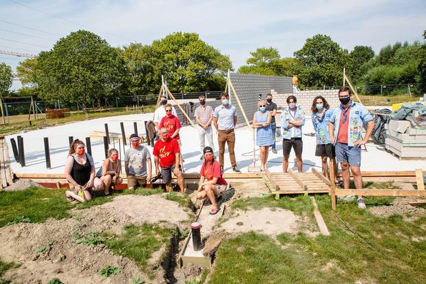 Bouw nieuwe jeugdlokalen op site Tempelhof gestart