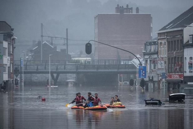 Inondations : réorganisation des hôpitaux de la région liégeoise