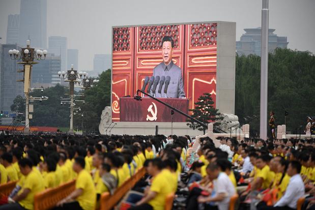 100ste verjaardag Chinese Communistische Partij: Xi waarschuwt voor 'muur van staal'