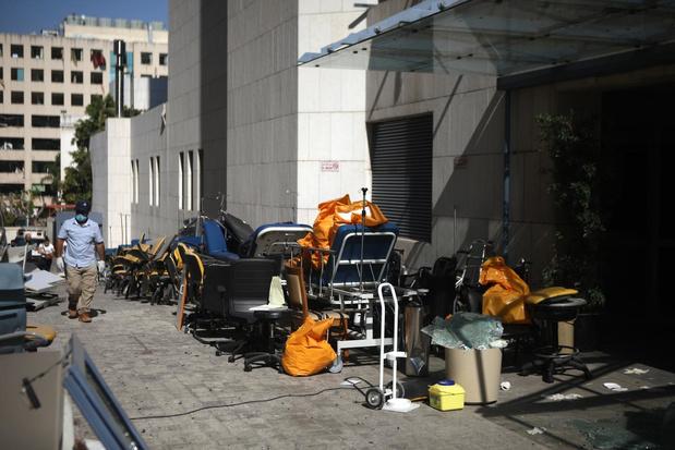 """Catastrophe au Liban : """"Nous avons perdu 11 patients. L'hôpital est partiellement détruit"""""""