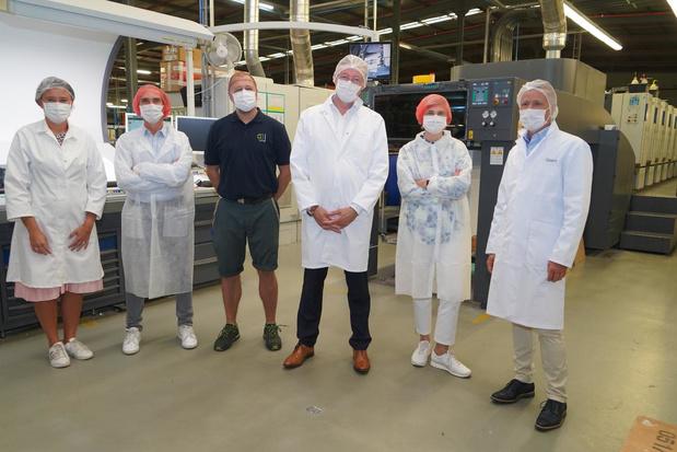 Minister Hilde Crevits bezoekt bedrijf DUCAJU in Meulebeke