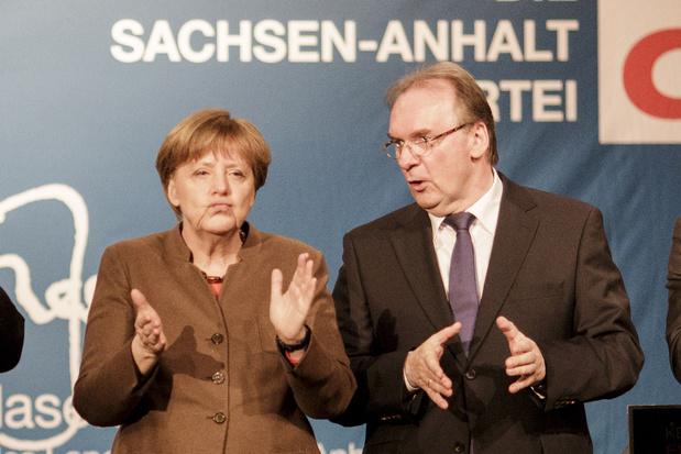 Voor het eerst 'Duitsland-coalitie' aan het roer in Saksen-Anhalt
