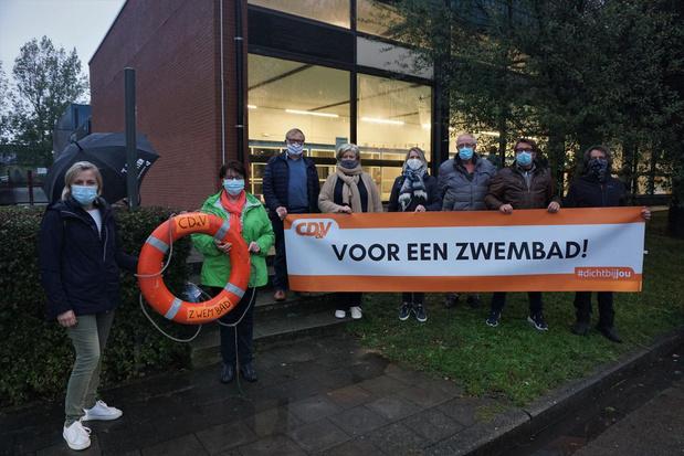 CD&V Gistel vindt sluiting zwembad in 2021 onaanvaardbaar