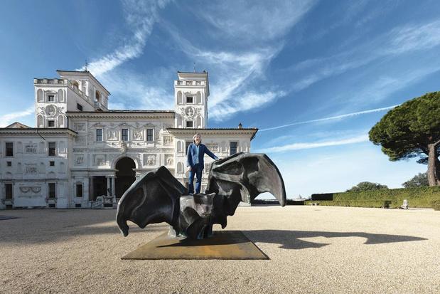 Un artiste belge à la Villa Medicis