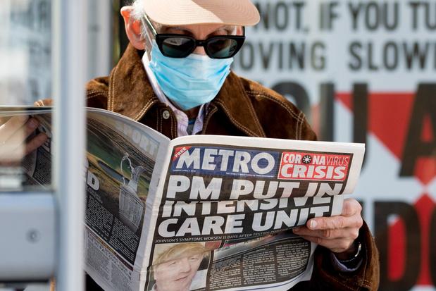 Boris Johnson: 'Ik dank mijn leven aan ziekenhuispersoneel'