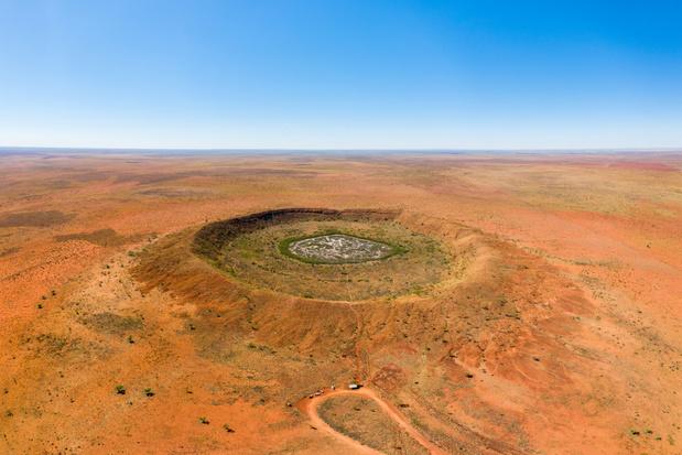 Gigantische krater van een meteorietinslag ontdekt in Australië