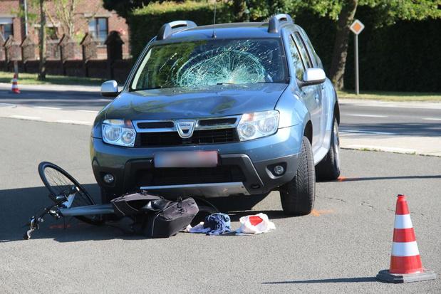 Fietsster (49) kritiek na aanrijding door auto