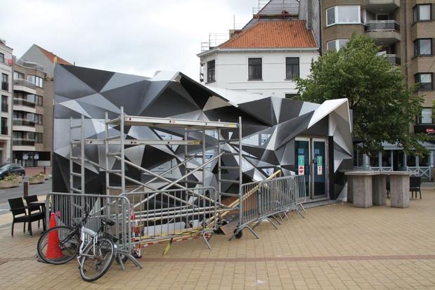 Toegangsgebouw parkeercomplex wordt futuristische eyecatcher