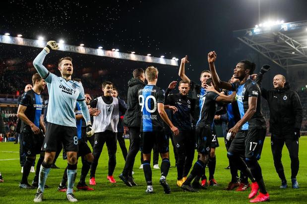 Het is nu officieel: Club Brugge is kampioen in de Pro League, Waasland-Beveren degradeert