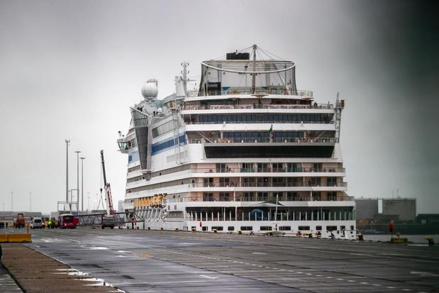 Passagiers cruiseschepen mogen niet van boord in Zeebrugge en Oostende
