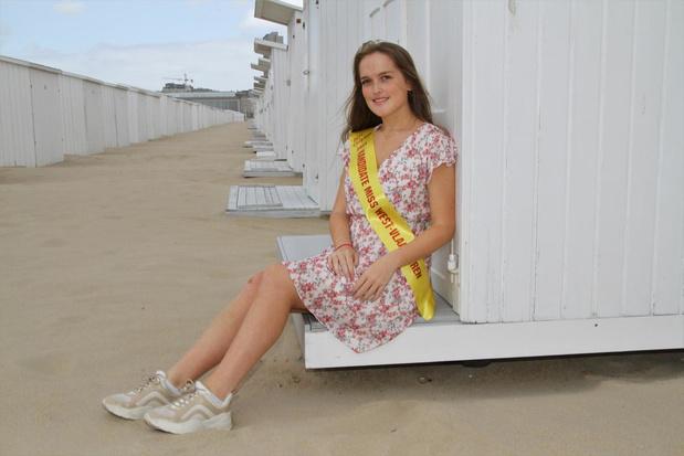 Oona (18) waagt kans in verkiezing Miss West-Vlaanderen