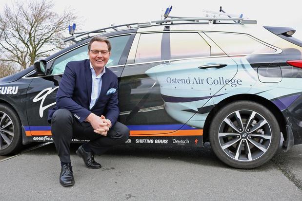Dirk De Cnop van Ostend Air College is voorzitter van Canguru-QTS-Air College CT