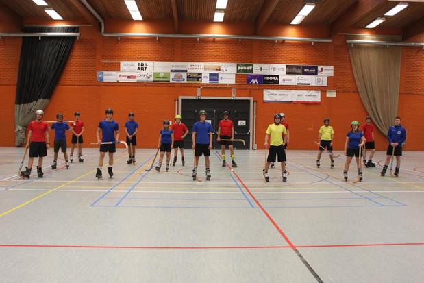 Rolhockeyclub ziet populariteit stijgen in Kortrijk
