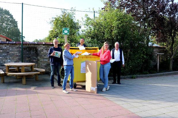 Gemeentelijke basisscholen Diksmuide maken werk van afvalsortering
