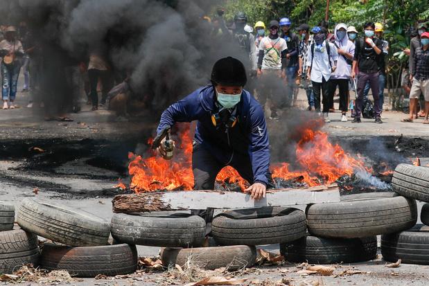 Stafchefs van 12 landen veroordelen in brief dodelijk geweld door leger Myanmar