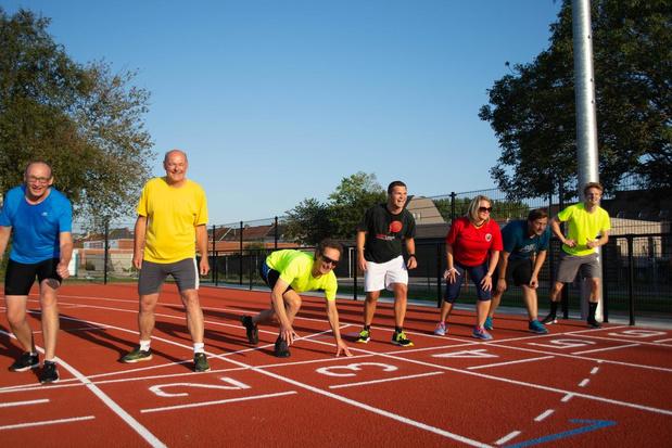 Nieuwe atletiekpiste in Wevelgem meteen trekpleister voor lopers