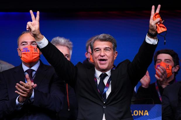 Voorzitterverkiezingen FC Barcelona: 'Dit is de overwinning van Joan en Johan'