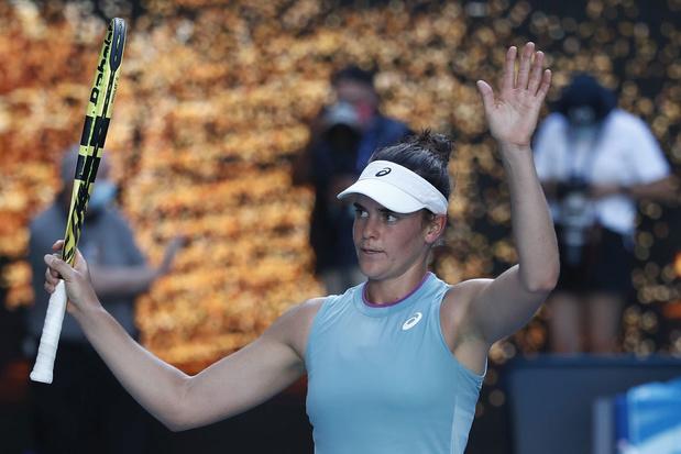 Jennifer Brady stoot door naar eerste grandslamfinale
