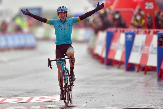 Jon Izagirre wint zesde rit Vuelta, Carapaz neemt leiderstrui over van Roglic