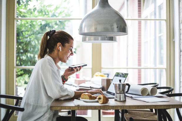 45% van de werknemers zegt thuis productiever te zijn dan op kantoor
