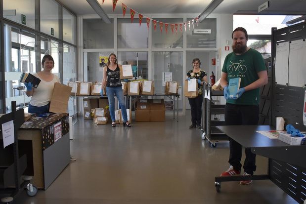 Afhaaldienst bibliotheek draait op volle toeren