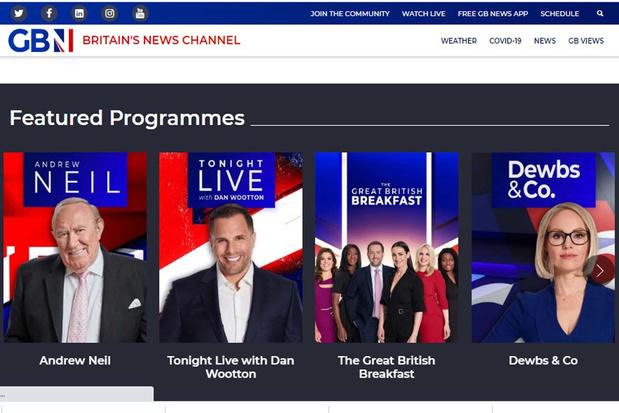 'Dat nieuwe zender GB News anti-woke is, is inmiddels bewezen. En dat is misschien wel het grootste probleem'