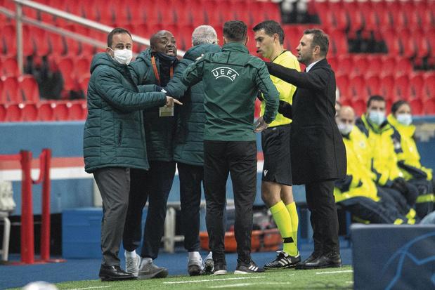Van racisme beschuldigde ref bij PSG-Basaksehir tot einde van seizoen geschorst door UEFA