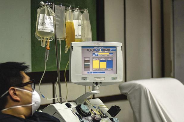 """Peter Fontaine : """"Dans deux semaines, nous devrons faire des choix entre les patients"""""""