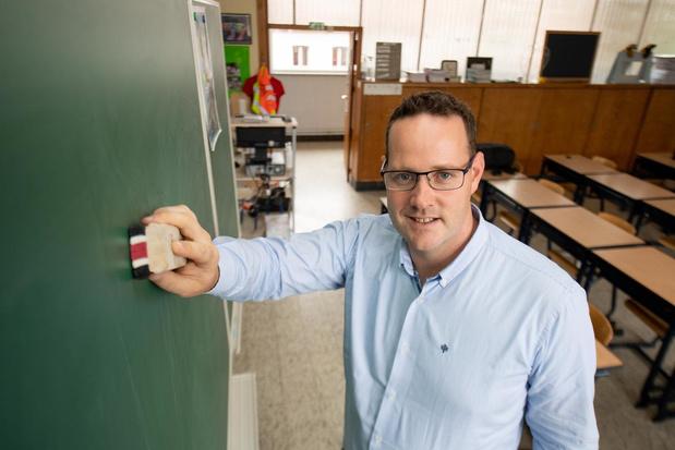 """Net voor lockdown gestart als schooldirecteur: """"Gevoel dat ik pas nu écht kan beginnen"""""""