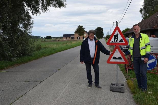 De komende maanden op verschillende plaatsen wegenwerken in Lo-Reninge