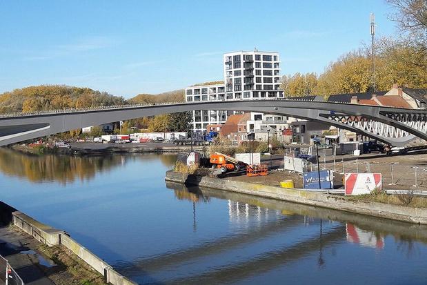 Dorpsbrug in Ingelmunster gaat toch niet officieel open op zondag 10 mei