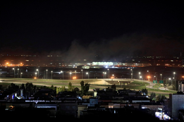Raketten afgeschoten op Iraakse luchtmachtbasis met buitenlandse troepen