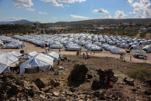 Oxfam: nieuw vluchtelingenkamp op Lesbos erger dan het kamp dat afbrandde