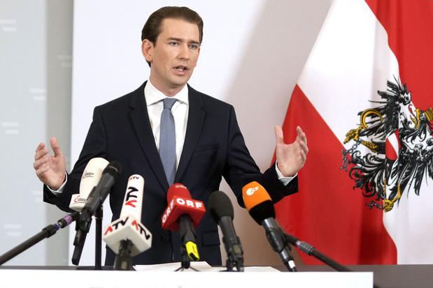 Oostenrijks kanselier Sebastian Kurz treedt af na corruptieschandaal