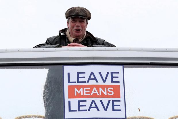 'Mr Brexit' Nigel Farage verlaat de politiek