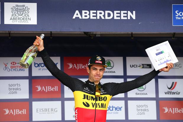 Hoe Wout van Aert... wereldkampioen Tom Boonen evenaarde