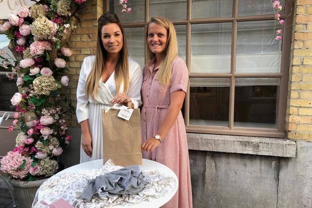 Jonge mama's starten webshop Milis Babyboutique met romantische babykledij