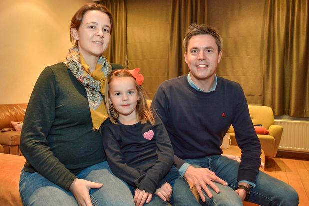 Eerste schepen Bert Verhaeghe en dokter Elke verwachten derde kindje