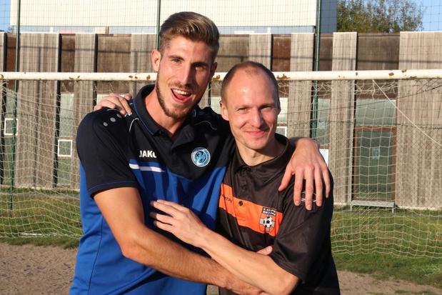 Vrienden spelen voor het eerst tegen elkaar in derby Sassport Boezinge - SC Zonnebeke