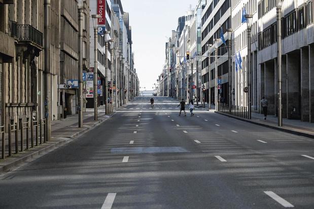Coronacrisis halveert verkeer op Belgische wegen