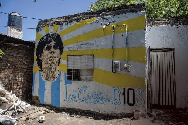 Sur les traces de Diego Maradona à Villa Fiorito, berceau d'El D10S