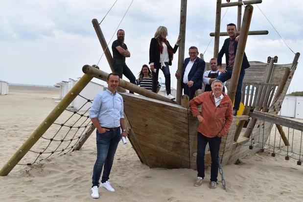 Voortaan rookvrije speelzone op Zeebrugs strand