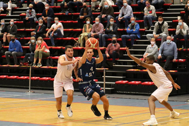 Basket SKT Ieper verliest oefenwedstrijd van eersteklasser Spirou Charleroi