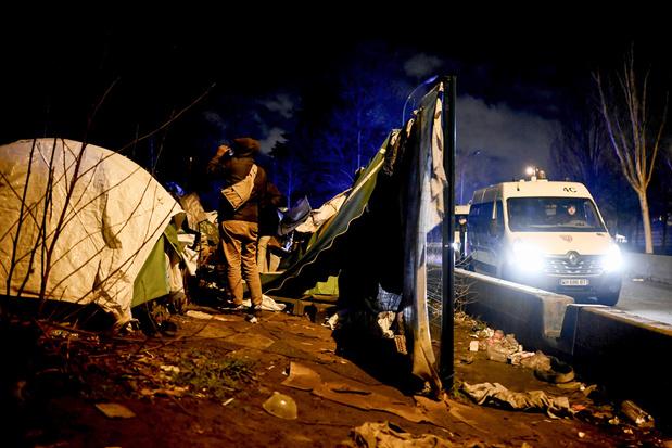 Frankrijk ontmantelt opnieuw groot migrantenkamp